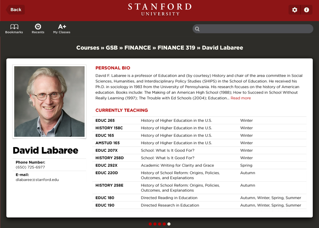 Stanford Project First Preview